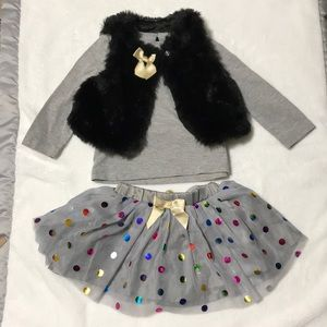 TAHARI skirt and vest - size 12 months